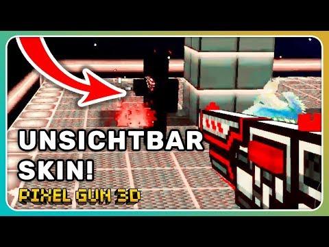 Unsichtbar! Vorteil durch Skin! |Pixel Gun 3D [Deutsch]