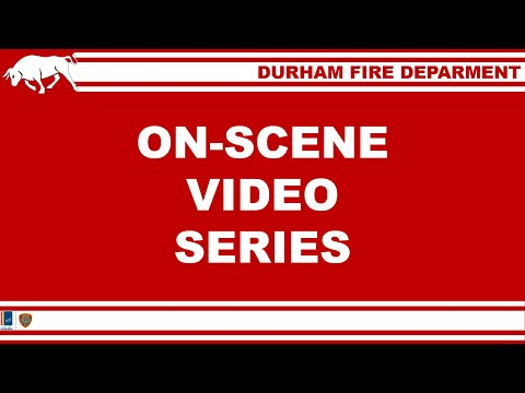 Durham Fire Department - Structure Fire - 600 Blk Dupree St. 1/18/20