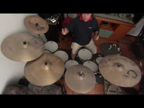 Fleetwood Mac Go Your Own Way Roland Td30 + E-Cymbals Home Made My Drum Cover Version