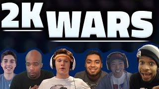 2K WARS - NBA 2K16 YOUTUBER TOURNAMENT -  MY TEAM