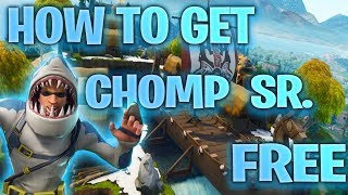 "*NEW* Fortnite: HOW to GET ""CHOMP SR."" SKIN for FREE! [PS4, Xbox One, PC] SEASON 5"