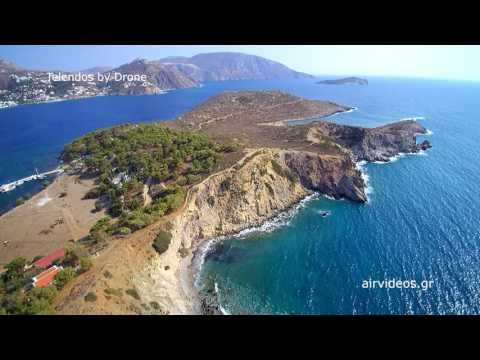 Telendos by Drone | Η Τέλενδος από ψηλά