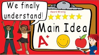 Main Idea   Awąrd Winning Main Idea and Supporting Details Teaching Video   What is Main Idea?