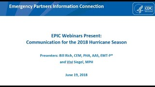 Download Video Communication for the 2018 Hurricane Season MP3 3GP MP4