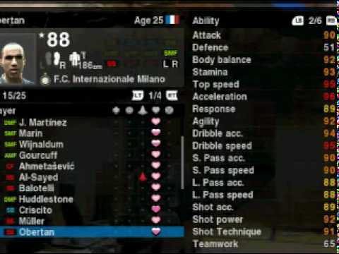 PES 2010 Best Master league players