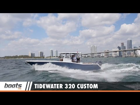 Tidewater 320 Custom: First Look Video Sponsored by United Marine Underwriters