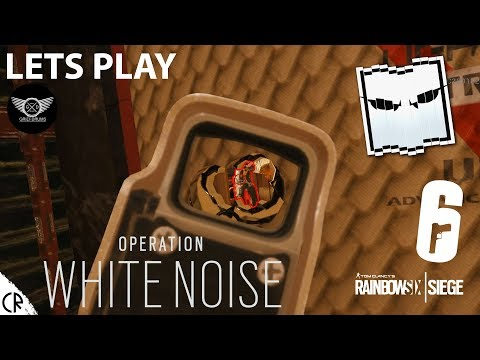 Trying Castle Strat Live - Lets Play White Noise - Tom Clancy's Rainbow Six - R6
