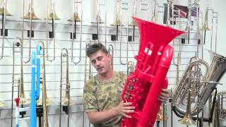 Tiger Plastic Tuba and Trombone