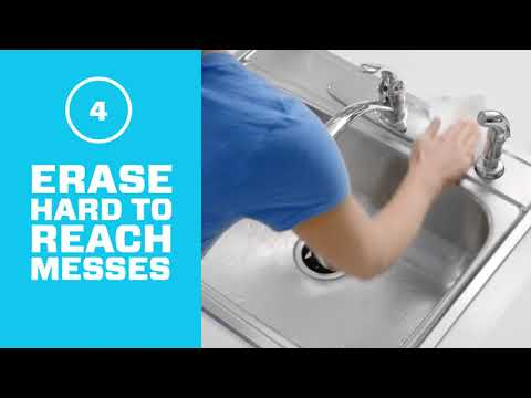 Magic Eraser Sheets - How To Clean Kitchen Sinks | Mr. Clean®