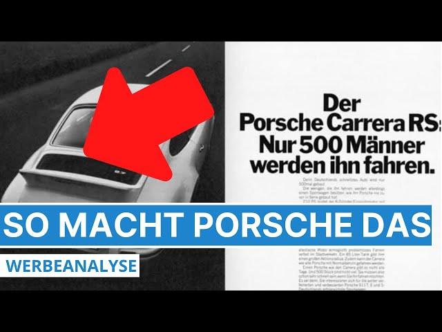 Diese fünf psychologischen Trigger nutzt Porsche in seiner Werbung - Analyse der Werbung