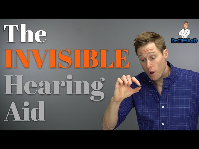 The INVISIBLE In the Canal (IIC) Hearing Aid   Phonak Virto B Titanium Hearing Aid