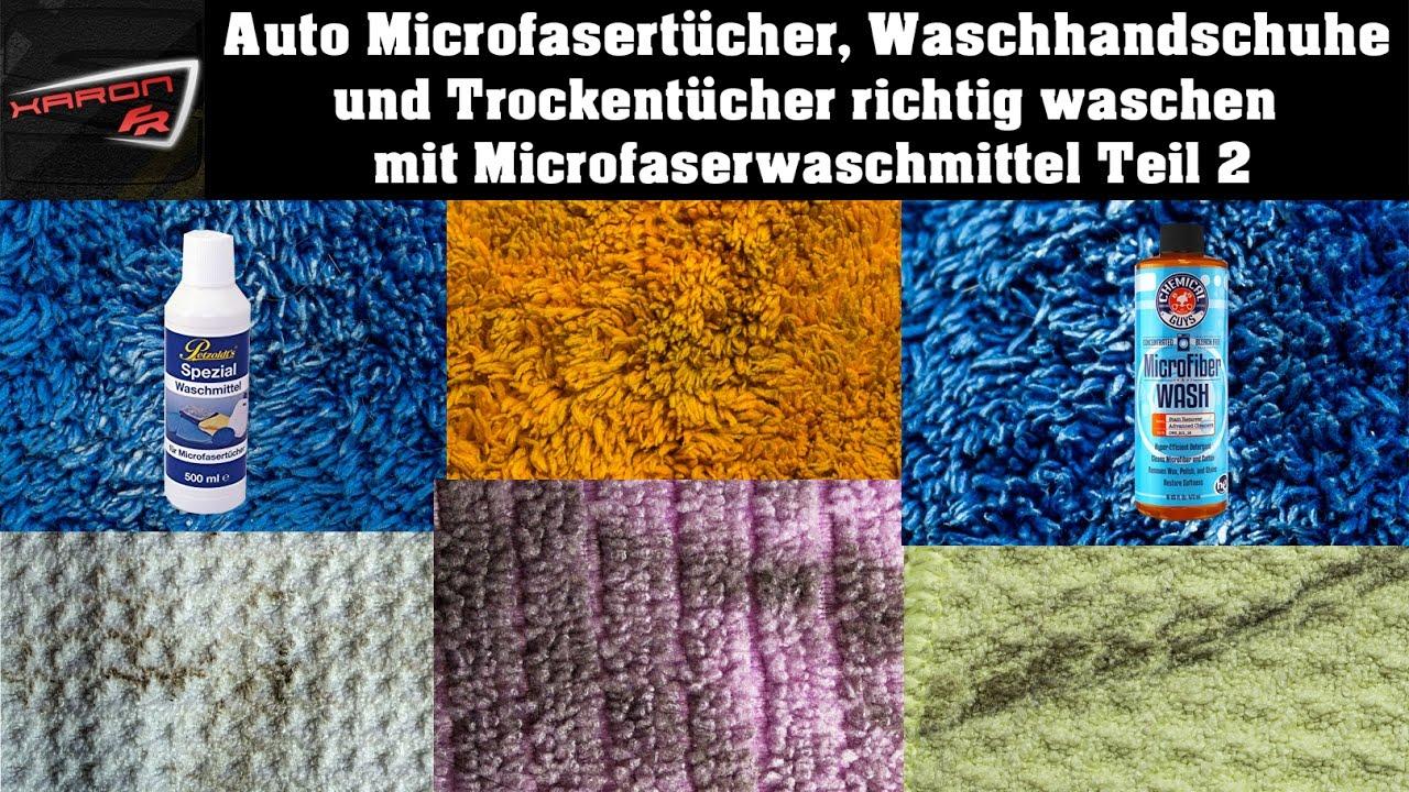 Auto Microfasertücher Waschhandschuhe Und Trockentücher Richtig