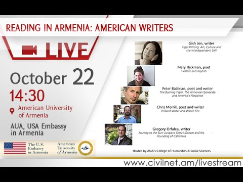 LIVE. Literary Reading with Contemporary American Writers
