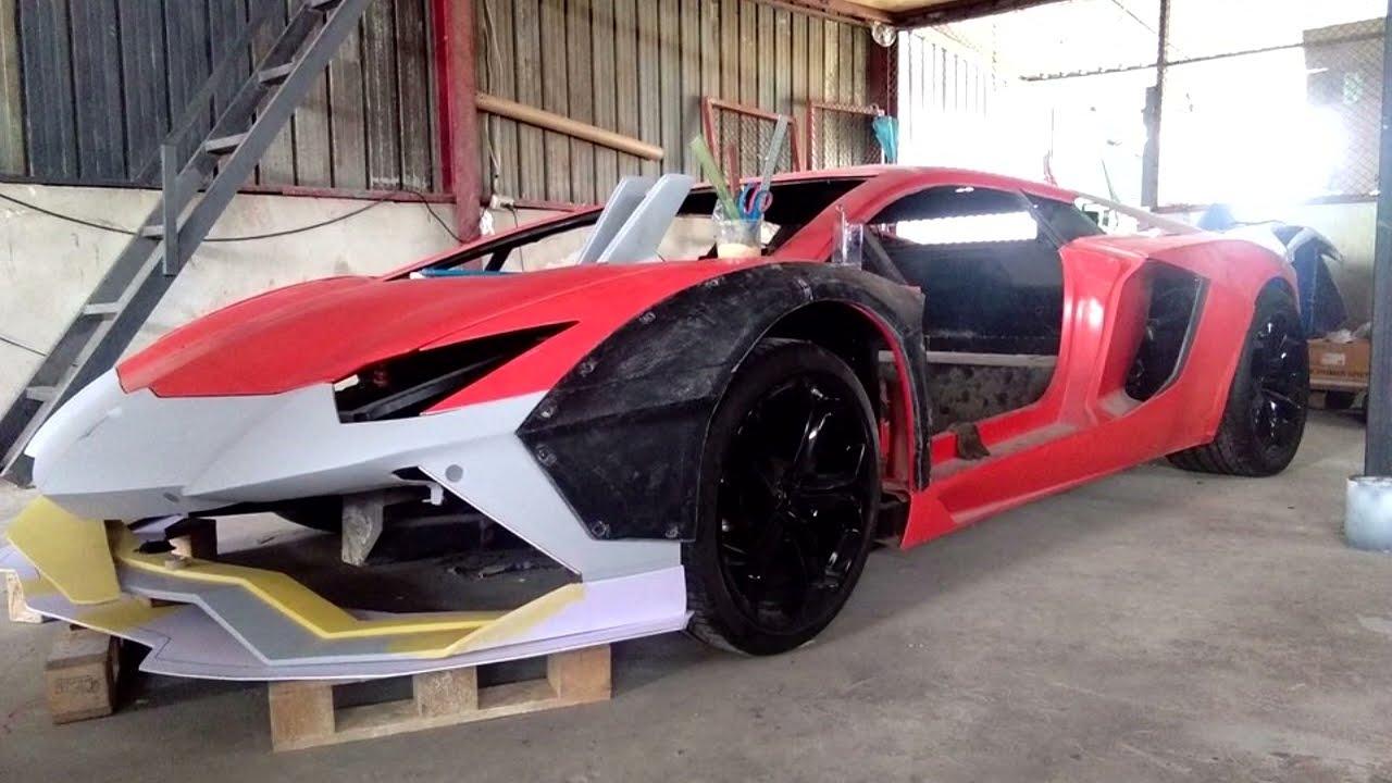 Lamborghini Aventador Replica แลมโบก็อปเนียนๆ เหมือนยันภายใน