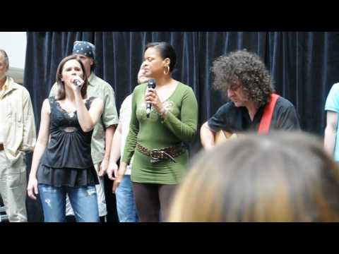 Cast of RoA - Eaton Centre Performance - Every Rose Has Its Thorn (10-06-10)