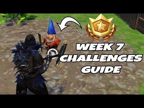 Week 7 Challenges Guide + New Raven Skin!  Fortnite Battle Royale