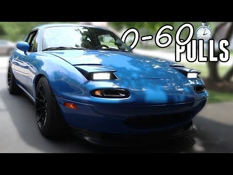 How Fast is the Turbo Miata to 60MPH?