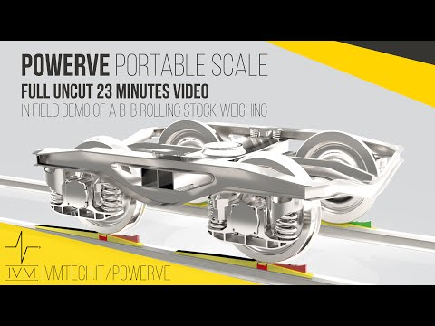 POWERVE - Full UNCUT 23 min IN FIELD B-B ROLLING STOCK WEIGH DEMO