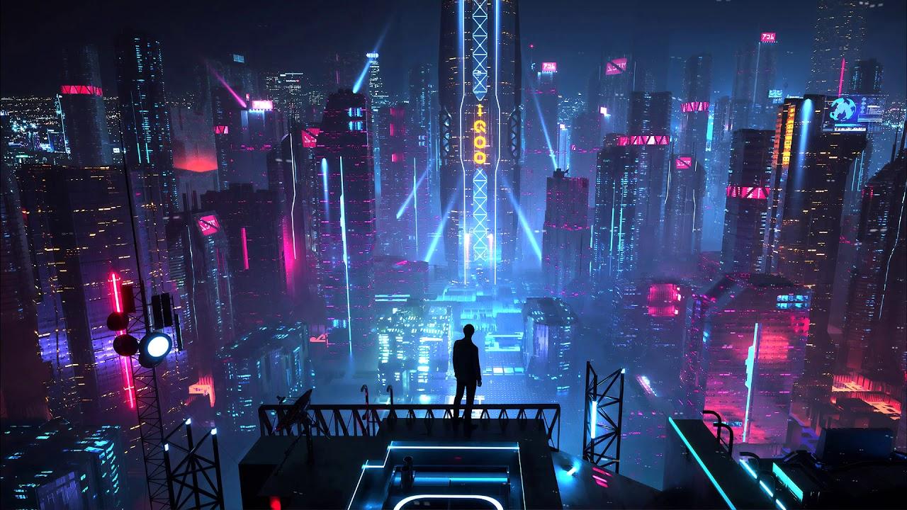 Superhuman - Vertigo (Epic Dark Hybrid Cyberpunk Music)