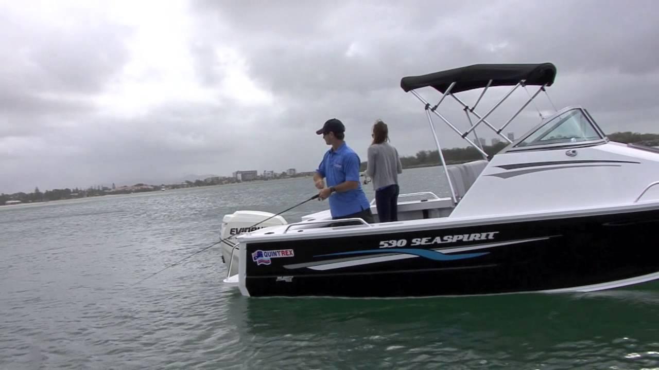 Quintrex sea spirit 530 youtube for Sea spirit fishing