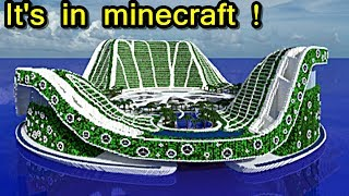 Minecraft - Lilypad City (500x500 blocks !) Map Projet genesis !