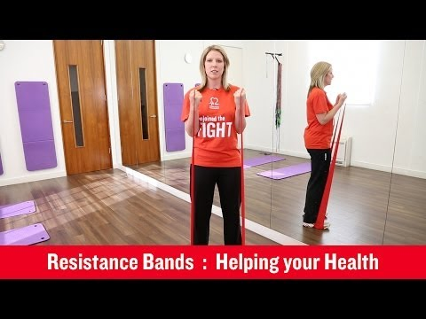 British Heart Foundation Using Resistance Bands