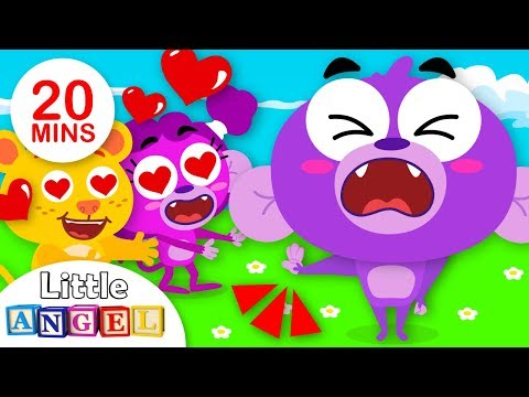 No No Valentines Day Edition, I Love You, Apples and Bananas   Kids Songs by Little Angel