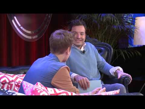 Justin Bieber and Jimmy Fallon  _ YouTube Presents
