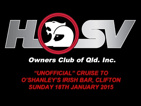 "HSVOC ""Unofficial"" Cruise to O'Shanley's Bar, Clifton - Sunday 18th January 2015"
