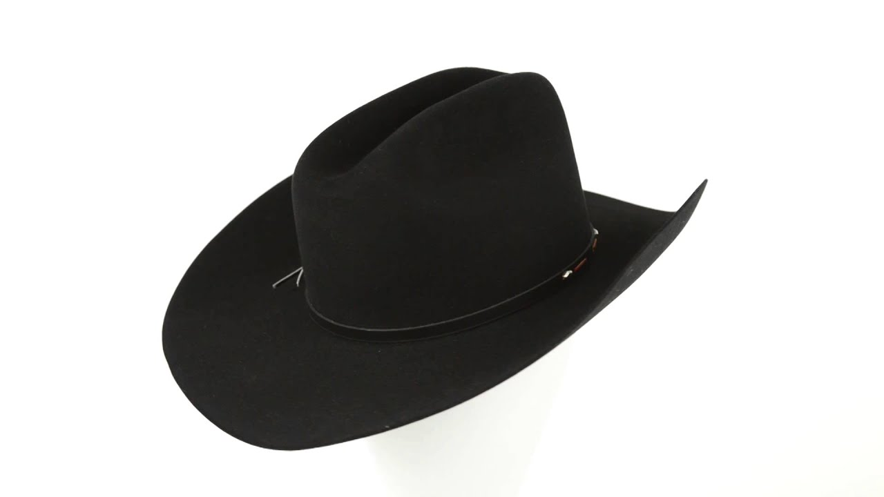 1d3f10820dc Stetson Blackhawk Cowboy Hat (For Men) - YouTube