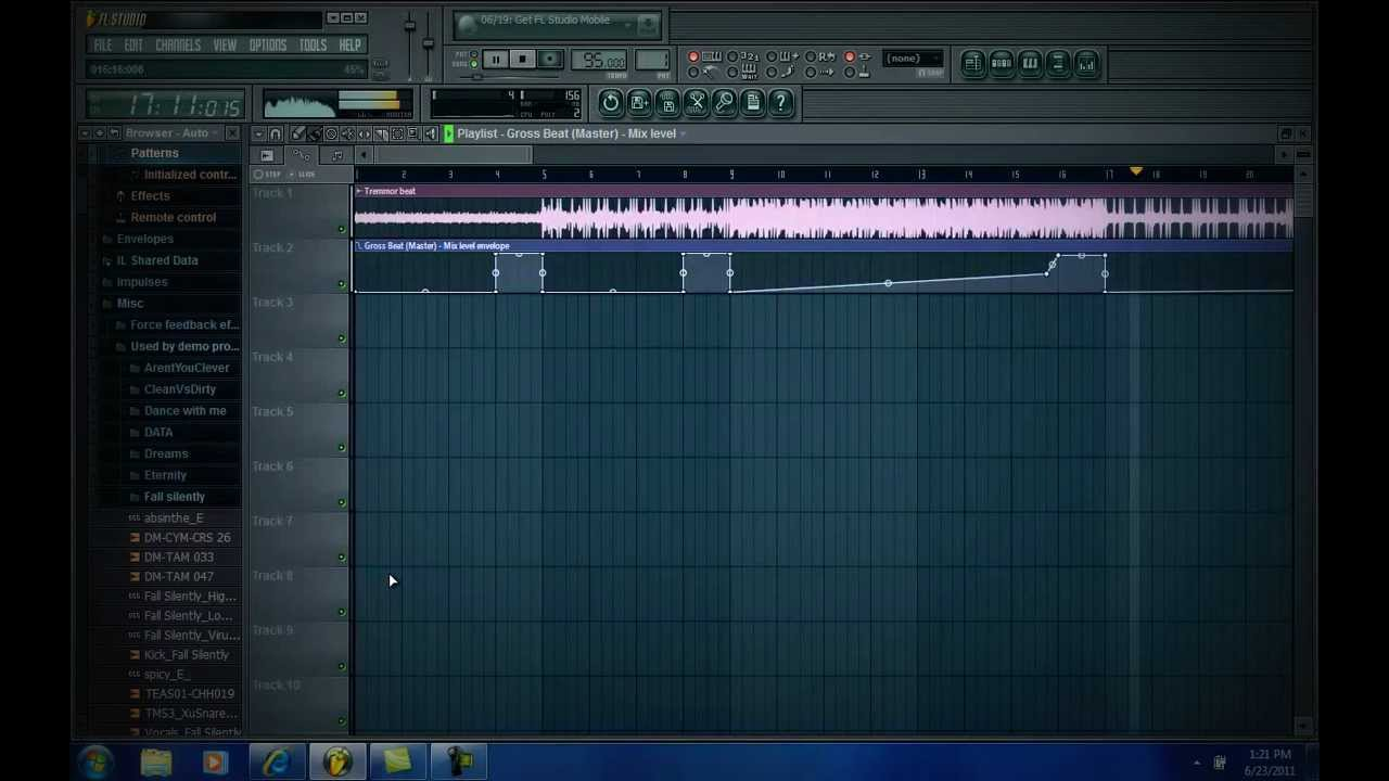 BEAT MAKING:HOW TO MAKE A BEAT DROP EFFECT in FL STUDIO WITH GROSS BEATS
