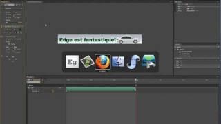 Créer une banière animée en HTML 5 avec Adobe Edge