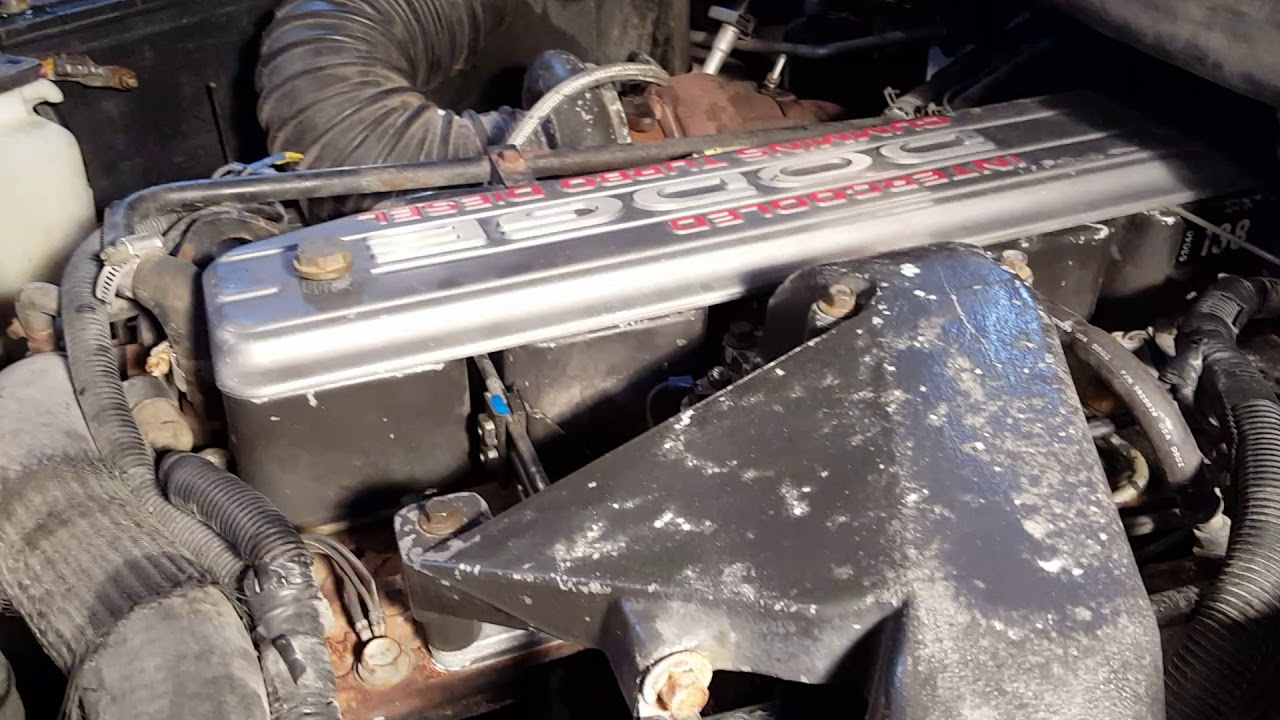 medium resolution of 96 dodge cummins power steering pump removal quick tip