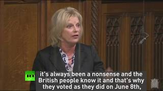 Soubry hits out at Tories saying