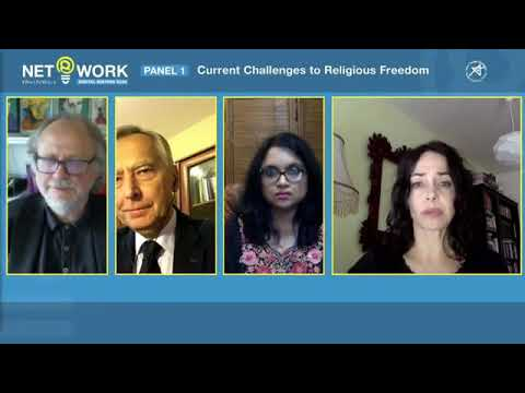 Current Challenges to Religious Freedom Panel at NET@WORK conference on 25 November 2020
