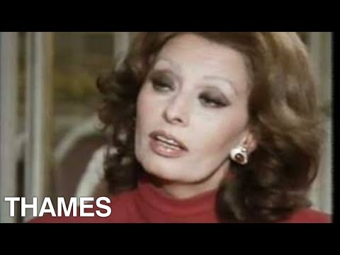 Sophia Loren interview |  Afternoon plus 4 | Thames Television | 1986