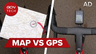 GPS Bike Computer Vs Map &…