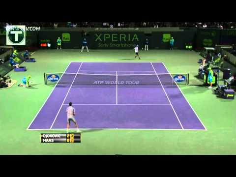 Djokovic vs Haas - Miami 2013 Highlights [HD]