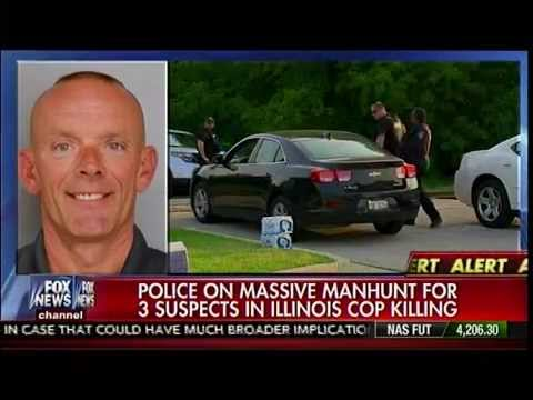 Police On Massive Manhunt For 3 Suspects In Illinois Cop ...