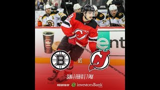 NHL 18 PS4. REGULAR SEASON 2017-2018. Boston BRUINS VS New Jersey DEVILS. 02.11.2018. (NBCSN) !
