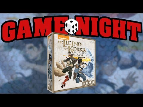 Game Night with Funagain Games - Legend of Korra: Pro-Bender Arena