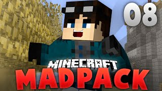 Minecraft - EthanRModded | MadPack #8 | How Does Force Enchant Why Book No Experience!