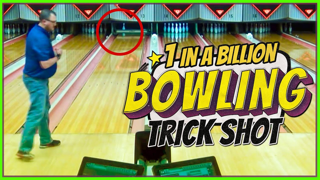 1 IN A BILLION BOWLING TRICK SHOT!!! - YouTube