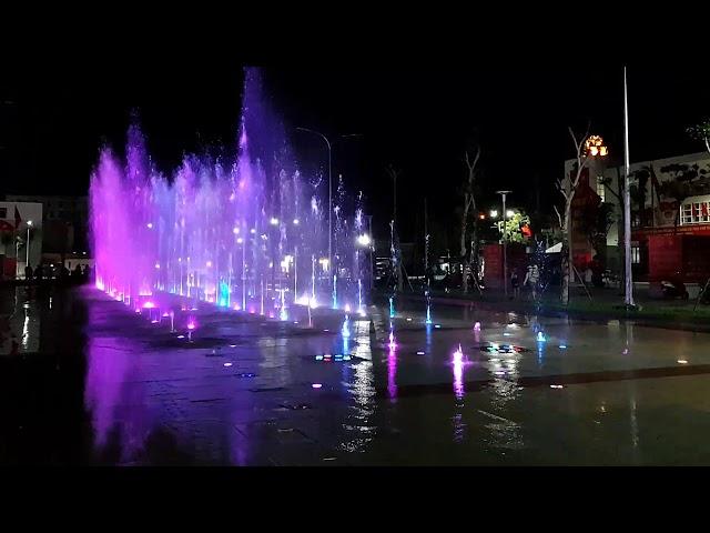 Sàn nhạc nước nghệ thuật công viên Diên Hồng - Tp. Tuy Hoà - Phú Yên