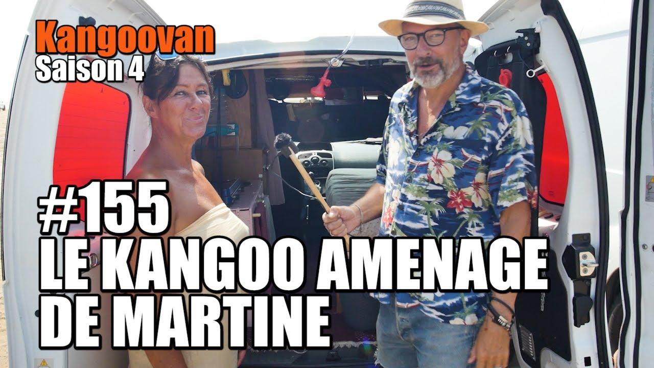 Vlog Kangoovan 155 - Le Kangoo aménagé de Martine