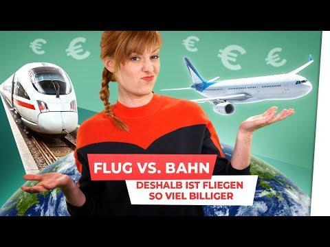 Bahn Vs. Flugzeug: Deshalb Ist Fliegen So Viel Billiger!