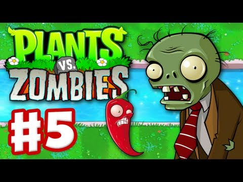 Plants vs. Zombies - Gameplay Walkthrough Part 5 - World 3 (HD)