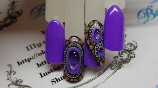 видео Жидкие камни и роскошное литье на ногтях: фото и мастер-класс