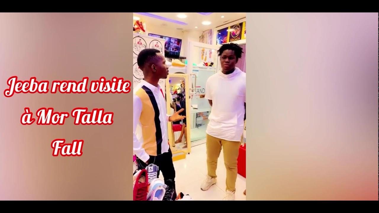 Quand le chanteur jeeba rend visite à Mor talla Fall sandaga