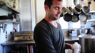 Jeremy Barnes Makes Goat Gouda Cheese